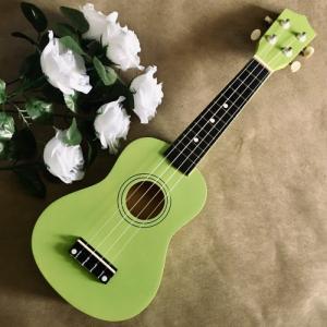 Đàn Ukulele gỗ màu xanh lá | Size soprano 21' chính hãng