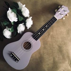 Đàn Ukulele gỗ màu tím | Size soprano 21' chính hãng.