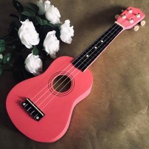 Đàn Ukulele gỗ hồng đậm | Size soprano 21' chính hãng.
