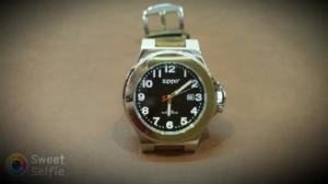 Đồng hồ quartz Zippo chính hãng .