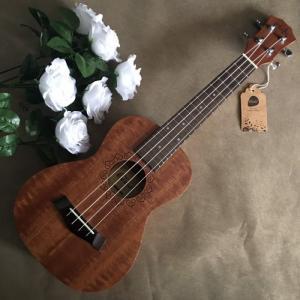 Đàn Ukulele gỗ gụ nguyên tấm | Size concert 23' chính hãng Music.