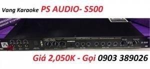 Vang cơ cao cấp PS Audio-S500 hỗ trợ Revert, Bluetooth, Chống hú