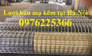 Lưới hàn mạ kẽm, lưới thép hàn mạ kẽm giá rẻ tại Hà Nội