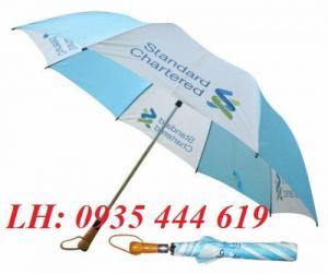 Ô dù cầm tay in logo quảng cáo tại Huế