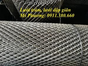 Lưới hình thoi, lưới dập giãn dùng trát tường, rào bảo vệ, trang trí