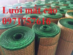 Giá lưới mắt cáo bọc nhựa chất