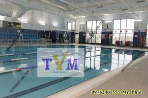 Bán tấm nhựa chắn máng tràn bể bơi