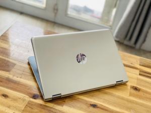 Laptop Hp Pavilion X360 14-ba063tu, i3 7100U 4G SSD128-500G Toud xoay 360 độ Màu GOLD Keng