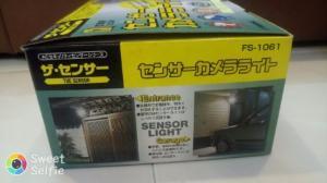 Camera có cảm biến đèn cho nhà xe .