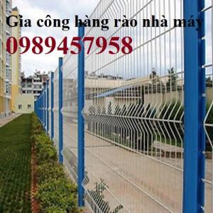 Sản xuất hàng rào lưới thép hàn, nhận lắp đặt hàng rào giá rẻ