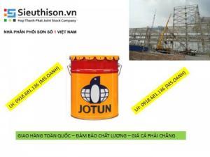Đại lý bán sơn lót epoxy Jotun Penguard Primer thùng bộ 20 lít cho sắt thép tại TPHCM