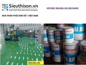 Đại lý bán sơn epoxy Hải Âu giá rẻ uy tín tại Sài Gòn