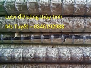 Lưới đỡ bông thủy tinh chống nóng, cách nhiệt có sẵn tại Hà Nội