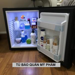 Tủ bảo quản mỹ phẩm, tủ mát mini, tủ làm lạnh đồ uống