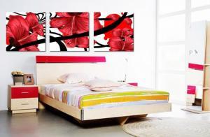 Phòng ngủ - tranh 3D trang trí thêm đẹp