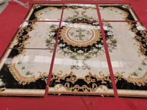Thảm gạch - gạch tranh hoa văn đẹp