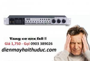 Vang Karaoke Bluetooth NEX-FX8 II hỗ trợ chống hú rít
