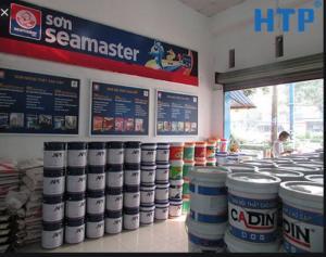 Sơn chịu nhiệt 600 độ seamaster giá tốt cho công trình