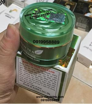 Kem trà xanh  trị nám tàn nhang trắng da whiterning green (GIÁ SĨ TỐT)