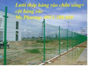 Lưới hàng rào, cột hàng rào tiêu chuẩn, thẩm mĩ tại Hà Nội