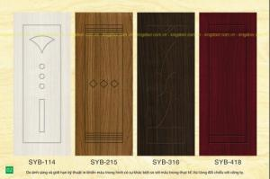 Cửa nhựa gỗ Composite ( Sungyu ) giá chỉ 2,800,000đ
