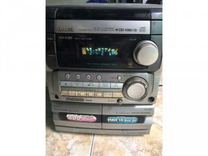 Cục Dàn Trung Aiwa NSX-K380 CS 70 Có Karaoke, Hoạt đòng đầy đủ