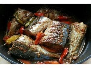 Combo : Cá bạc má kho cà, Cơm trắng, canh khoai môn, đậu bắp xào