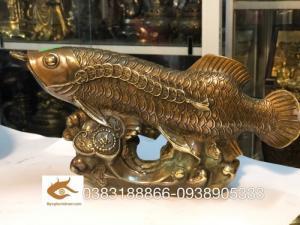 Ý nghĩa của tượng cá chép rồng nâu trong đời sống