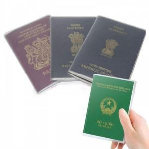 Vỏ hộ chiếu in logo_Miễn phí thiết kế theo yêu cầu