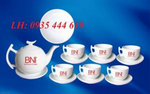Ấm trà quà tặng khách hàng, ấm trà in logo quảng cáo tại Đà Nẵng