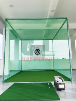 Khung tập phát bóng golf 3x3x3m