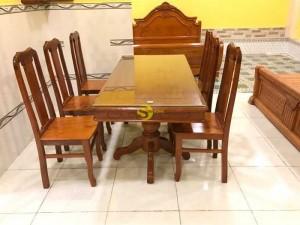 Bộ bàn ăn 6 ghế mẫu hiện đại- chất lượng giá rẻ