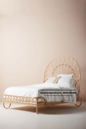 Giường ngủ mây tự nhiên