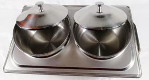 Nồi Hâm Soup Inox chữ nhật 2 Ngăn Giá Rẻ BF771L63-S