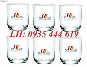 Cơ sở in logo lên ly thủy tinh tặng khách hàng tại Quảng Trị