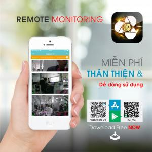 2020-03-27 19:26:00  3  Vantech Camera Wifi Flood Light Onvif Pan/Tilt 4.0MP AI-V2040C 2,900,000