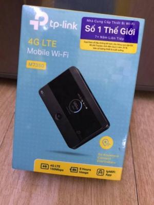 2020-03-27 19:37:35  5  Bộ Phát Wifi 4G – TP-Link M7350 Chính Hãng 1,280,000