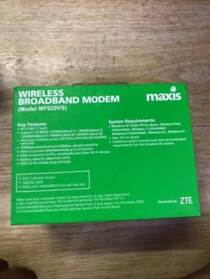 2020-03-27 19:47:26  3  Thiết Bị Phát Wifi 4G Di Động ZTE MF920VS Có Màn Hình Tổng Quan Pin 10 Giờ 799,000