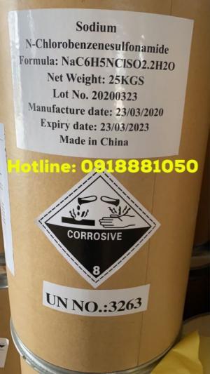 2020-03-27 23:38:36  3 Bán Cloramin sát khuẩn Bán Cloramin B- Chất khử trùng diệt khuẩn phòng bệnh. 19,200