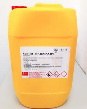 Hoá chất diệt vi sinh xử lý nước làm mát AWT-375 Microbiocide
