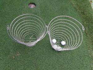 Rỗ đựng golf banh inox