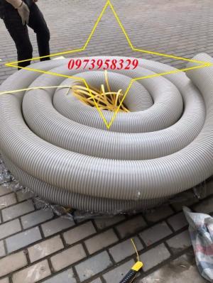 Ống hút bụi gân nhựa Pvc - ống nhựa xoắn ruột gà - ống nhựa hút bụi công nghiệp D300,D250,D200,D168,D150,D120,D114,D100,D90,D76,D65,D60,D50,D40,D34,D25