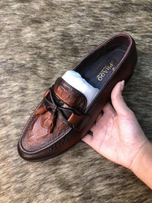 Giày lười nam da bò cực mềm mại và ôm chân