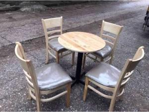 thanh lý bàn ghế gỗ nệm giá rẽ