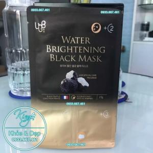 Mặt Nạ Thải Độc UGB Water Brightening Black Mask