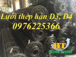 Lưới thép hàn d4 ( 200x200), d4 (150x150) hàng có sẵn giá rẻ tại Hà Nội