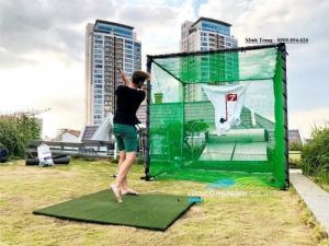 Khung Lều Tập Golf Tại Nhà