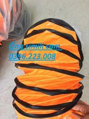 Bạn đang tìm mua ống vải bạt Simili D300 đan cốt dù mềm mại dẻo dai chịu nhiệt