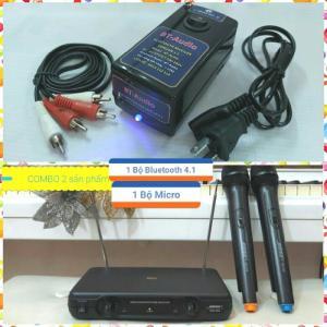 Combo Karaoke không dây Micro Bose +Bluetooth 4.1