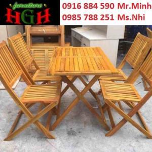 bàn ghế cafe gổ xếp  giá tại xưởng sản xuất ANH KHOA 466633